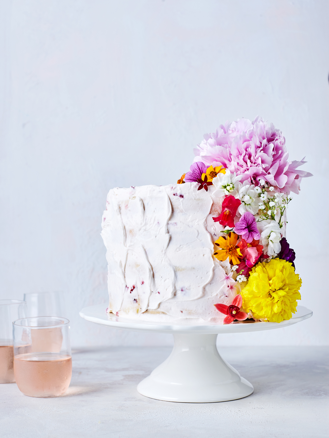Confetti Flower Cake Recipe Myrecipes