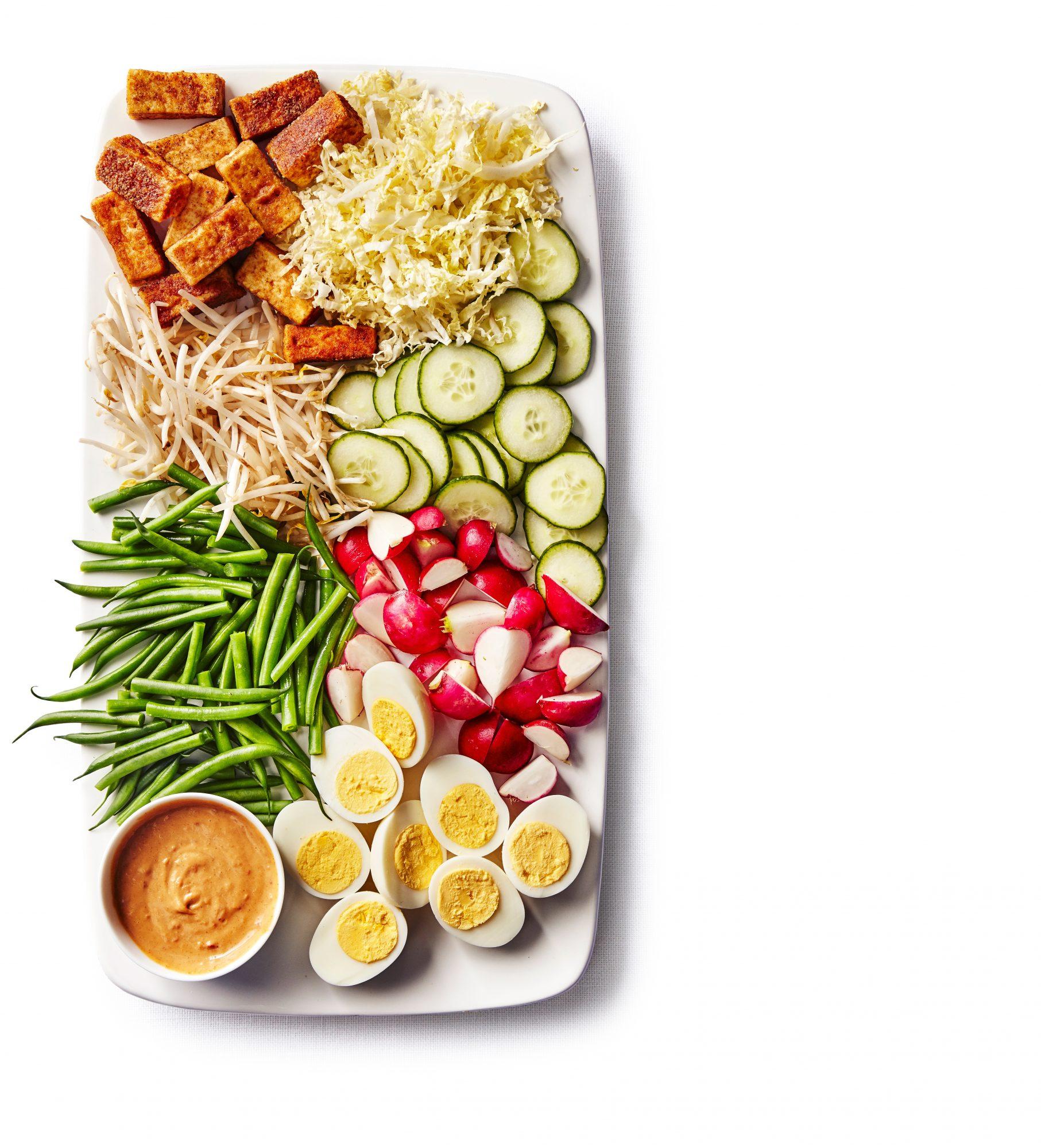 Indonesian salad gado gado recipe myrecipes indonesian salad gado gado forumfinder Images