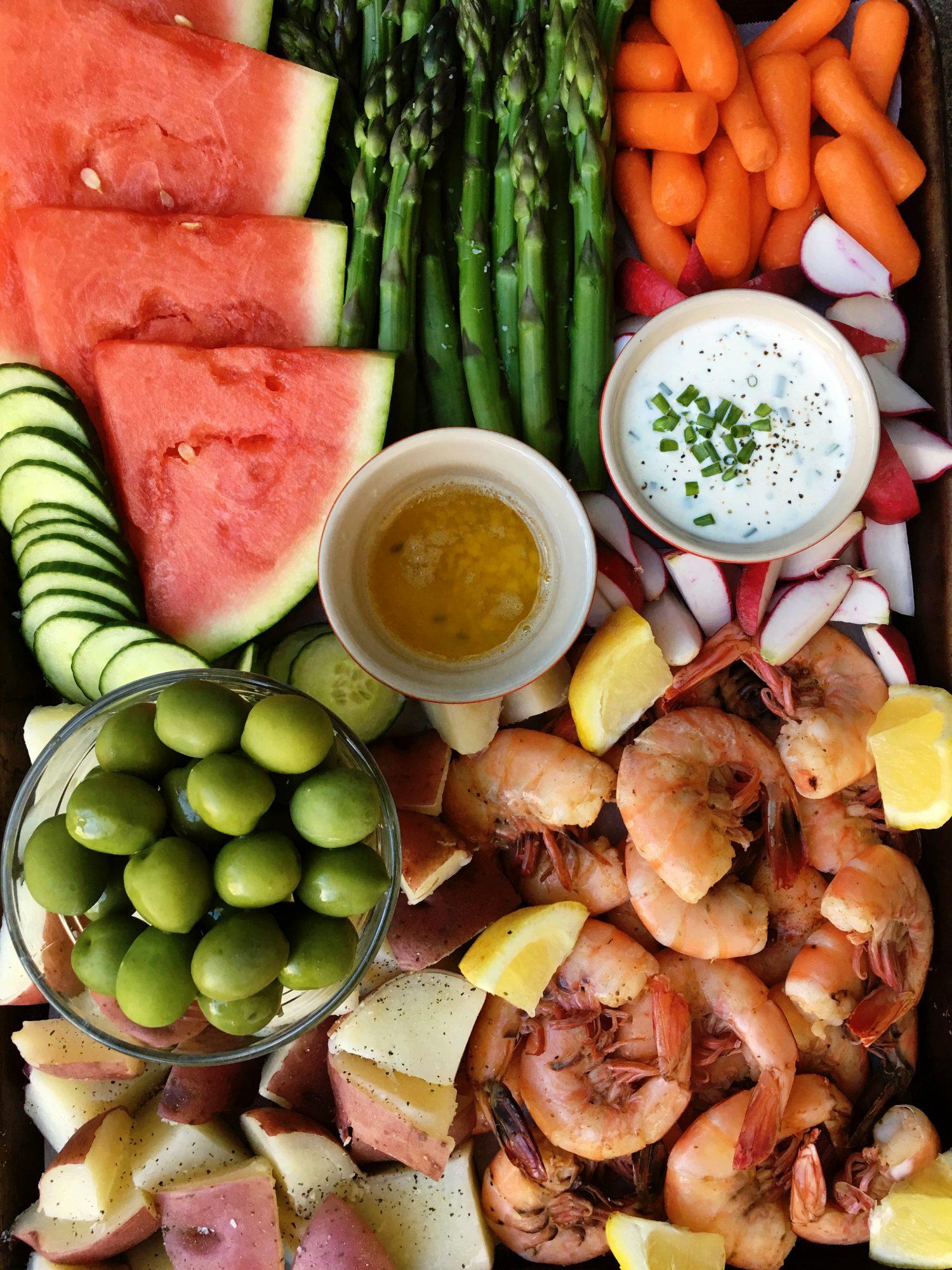 Shrimp Snack Dinner