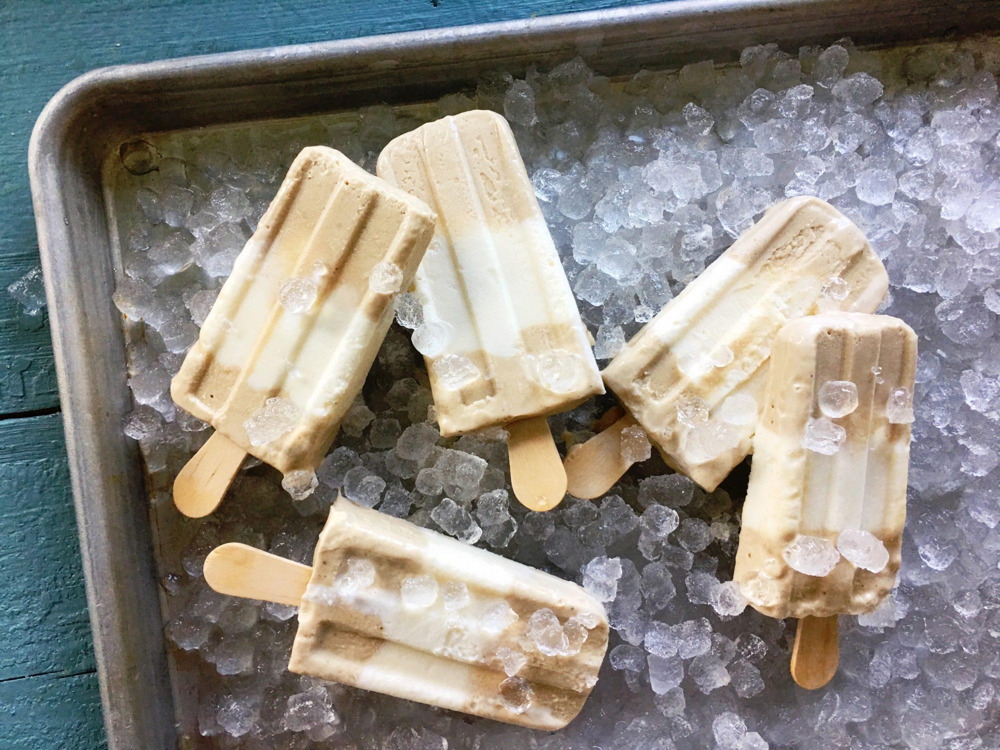 Tahini Buttermilk Pops