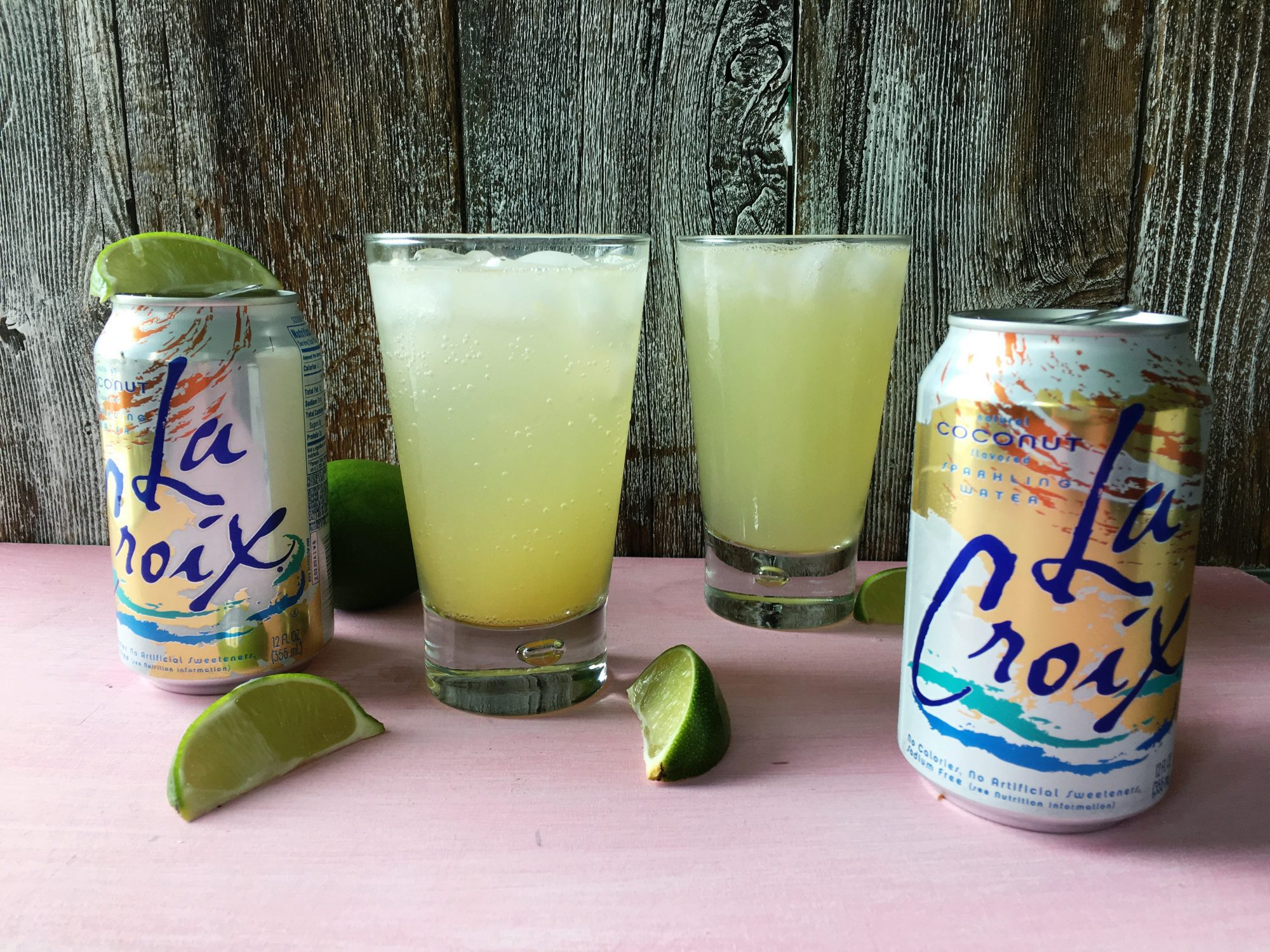Coconut La Croix Cocktail