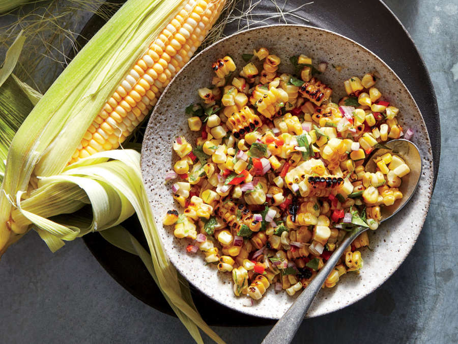 ck-Grilled Corn Salsa