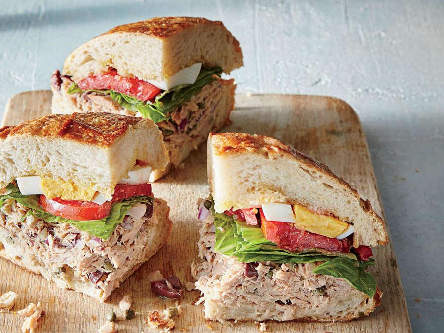 Pan Bagnat Tuna Sandwich