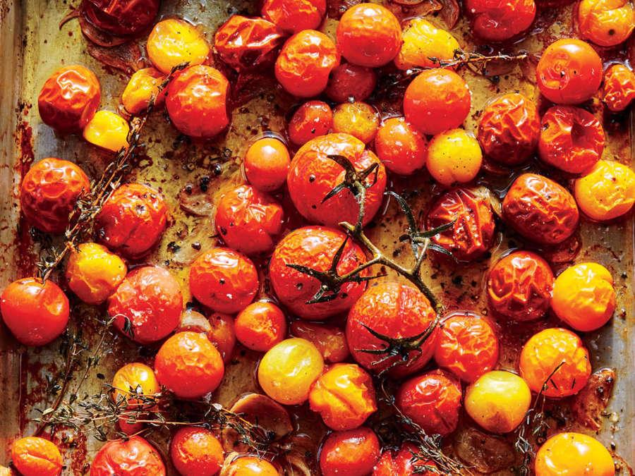 <p>Cherry Tomato Confit</p>