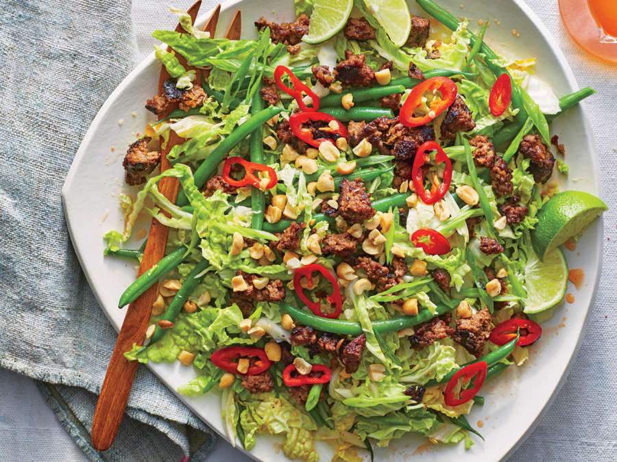 Thai Beef-and-Cabbage Salad