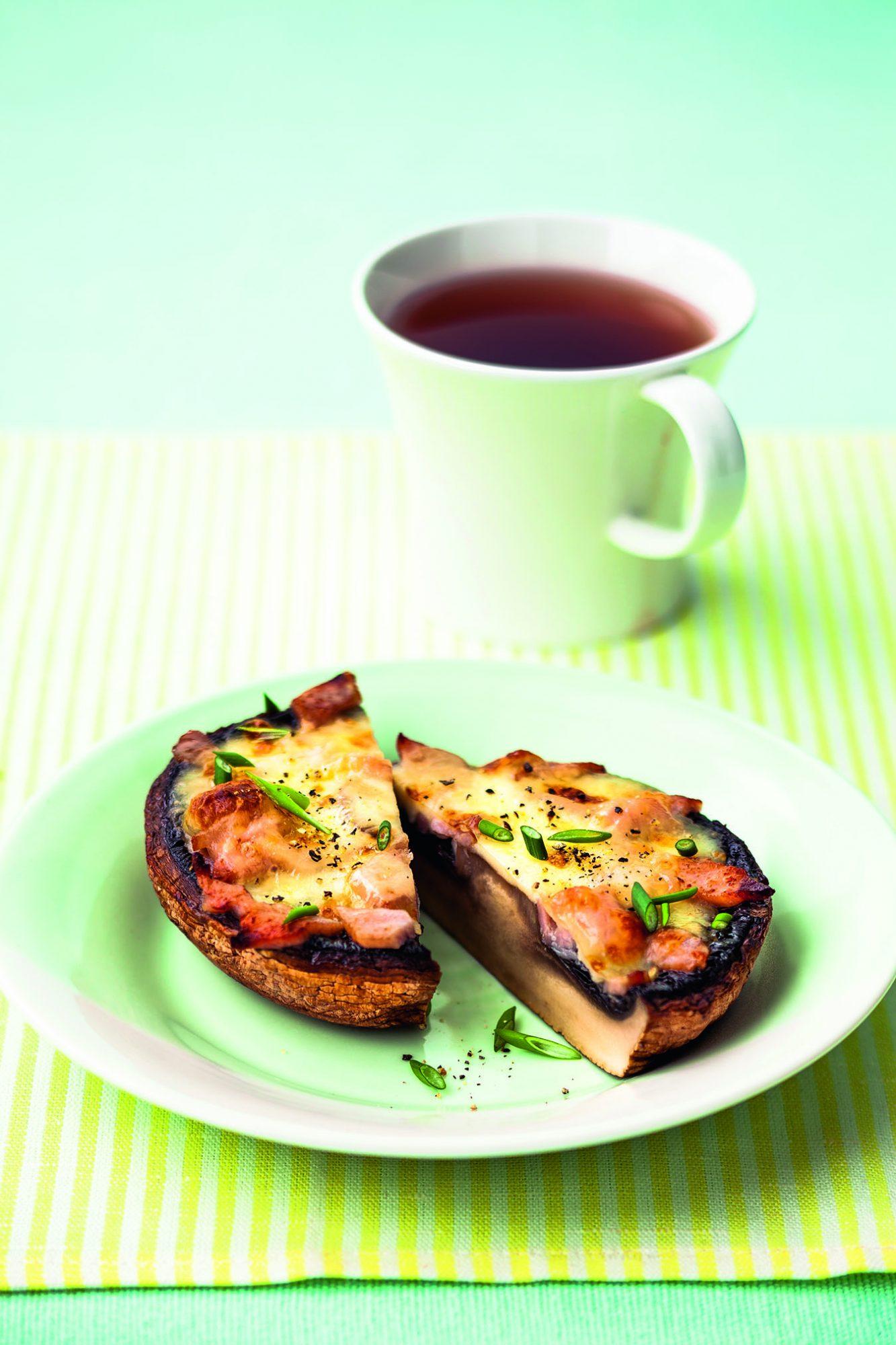 Bacon Mushroom Melt