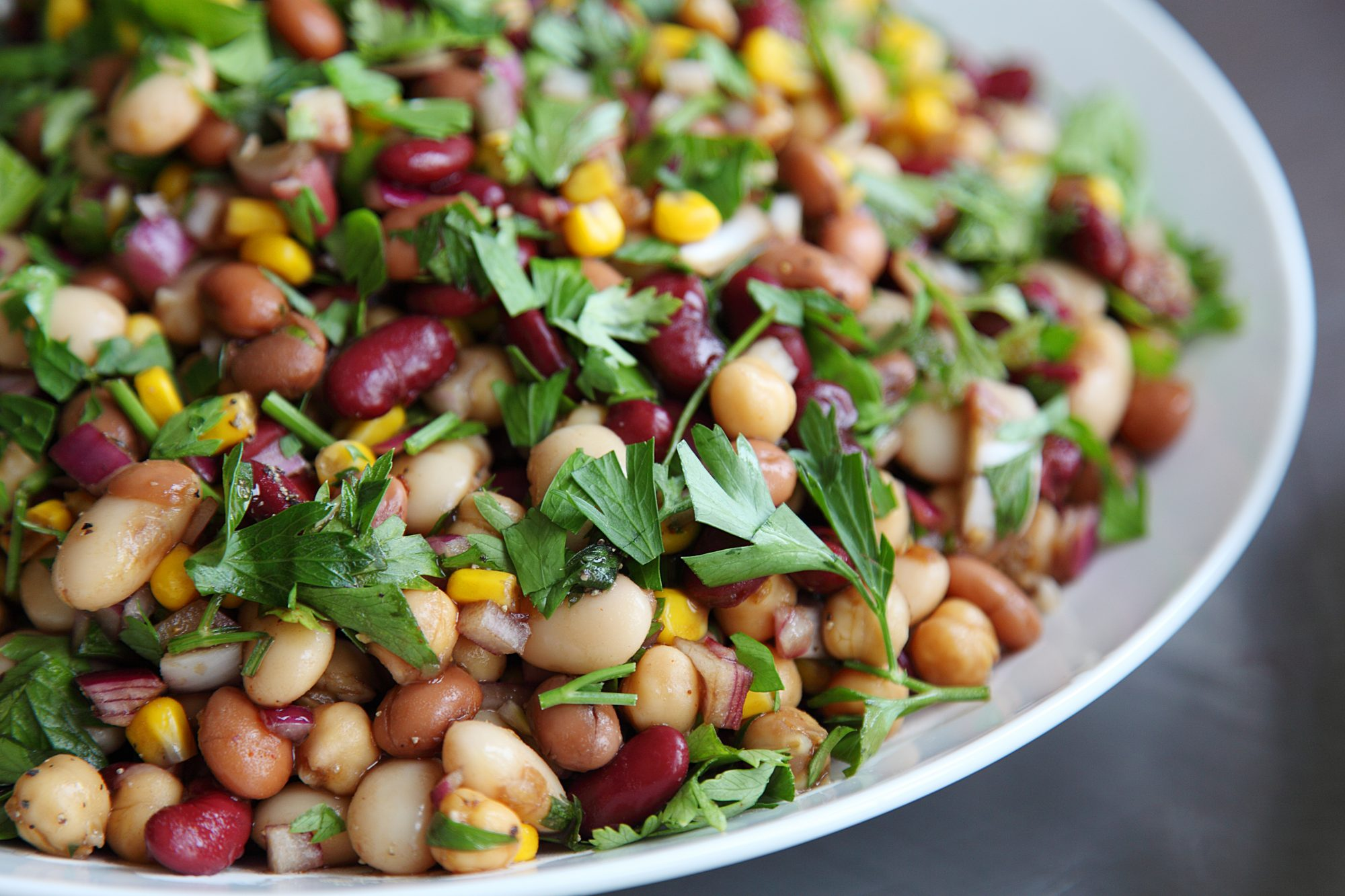 This Bean Salad is About to Revolutionize Your Meal Prep Game