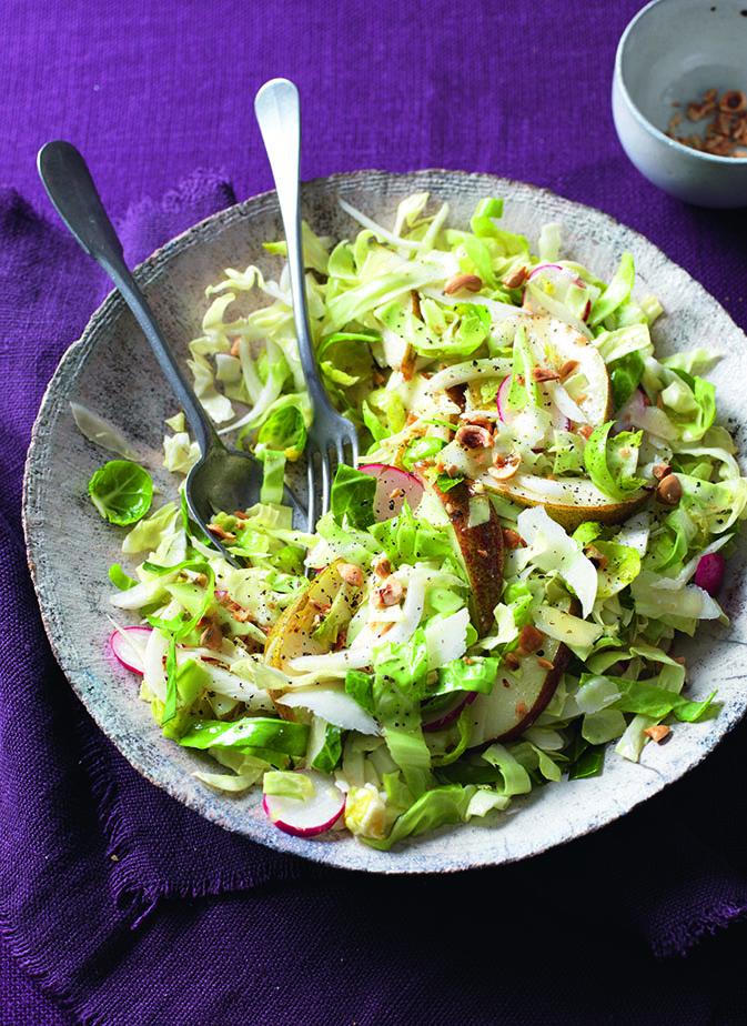 oh- Crunchy Leaf Salad