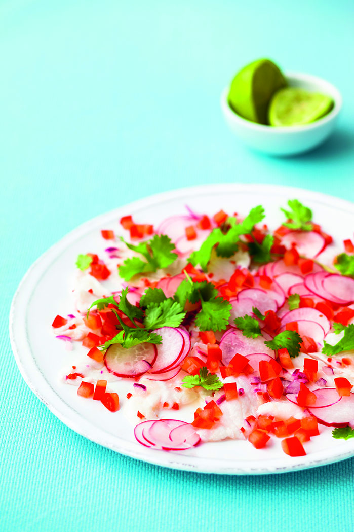 oh- Haddock Ceviche with Lime and Ginger