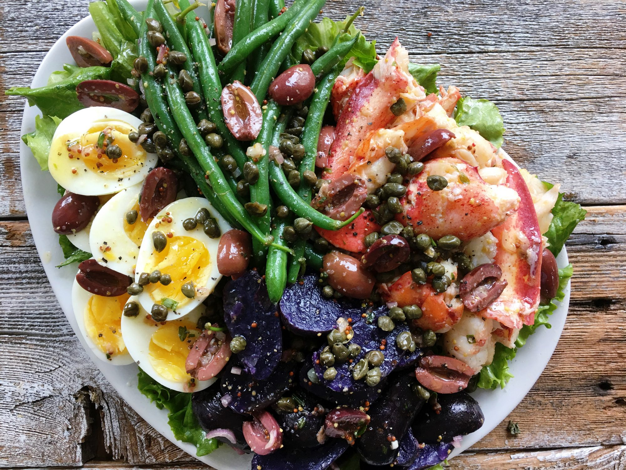 Lobster Niçoise Salad