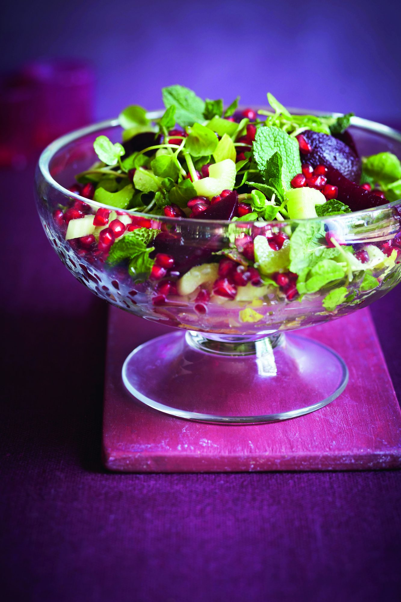 oh- Pomegranate and Celery Salad