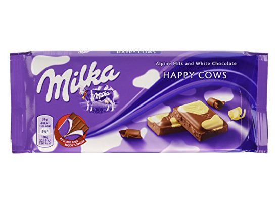 Milka-Kuhflecken-Amazon