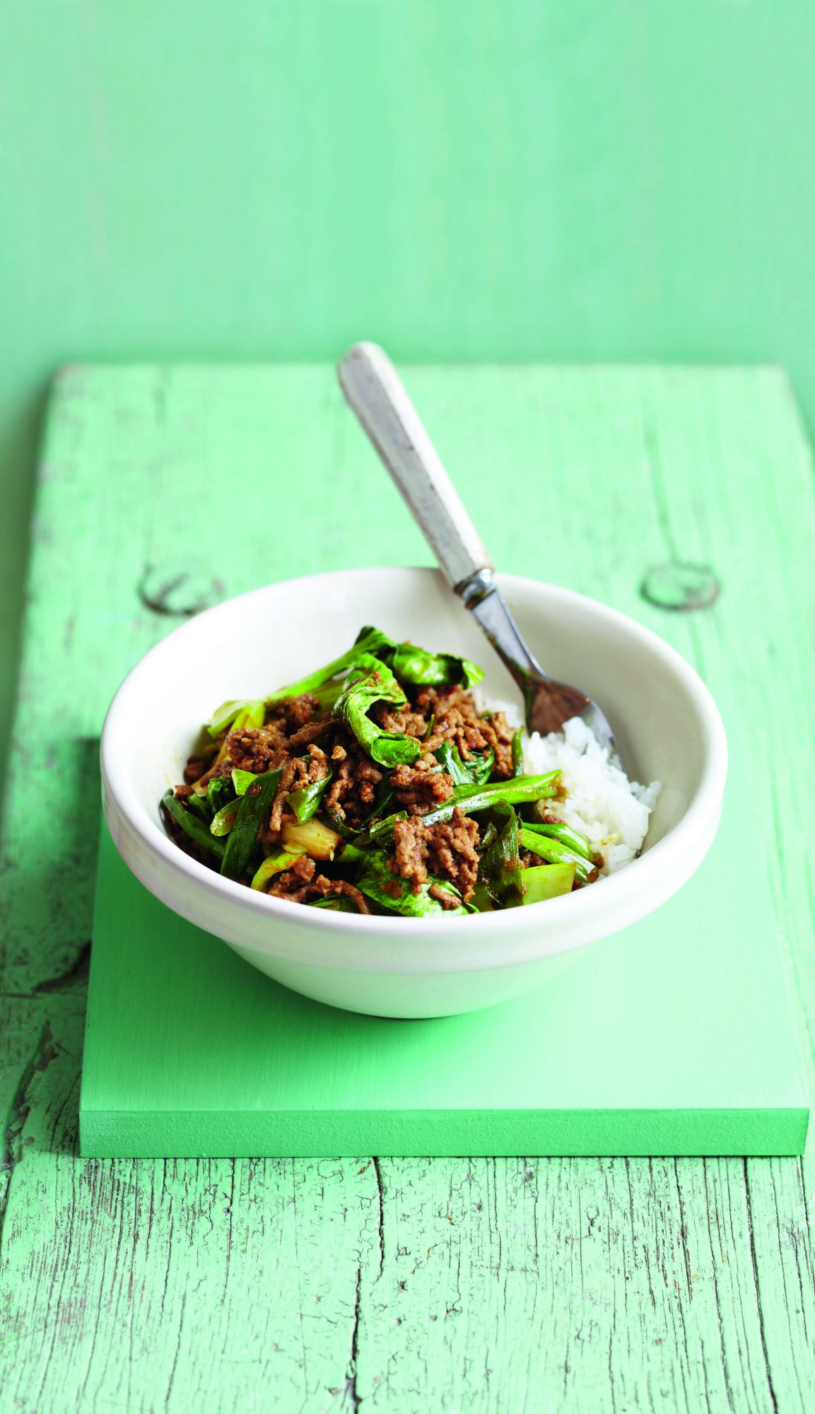 oh- Easy Beef Curry and Bok Choy Stir-Fry