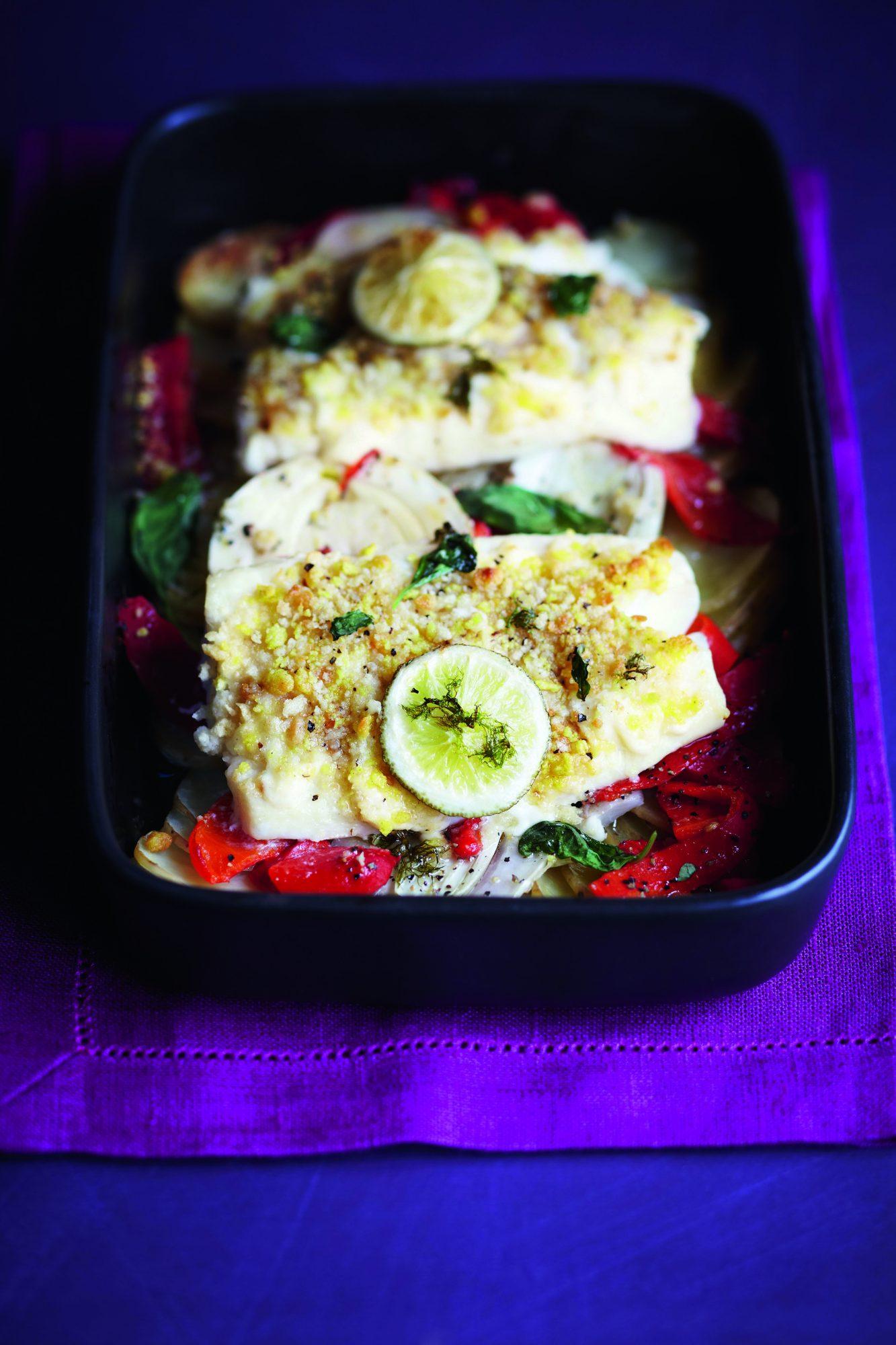 Fish, Fennel & Potato Casserole