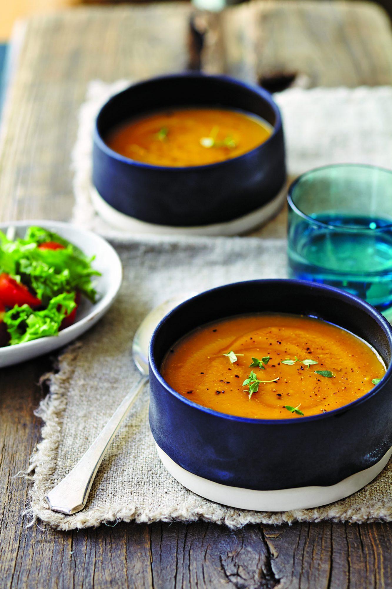 Butternut Squash Soup Recipe Myrecipes