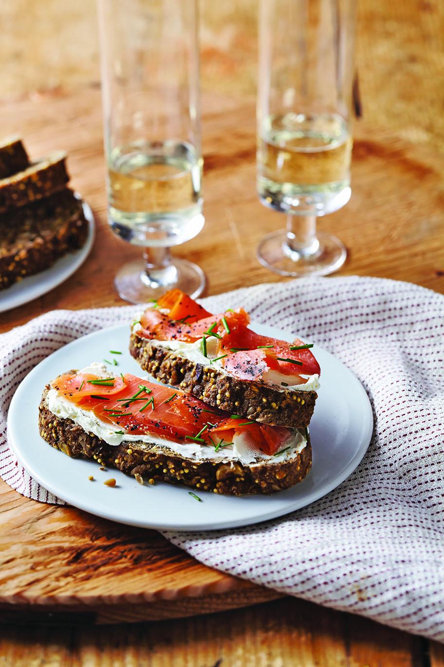 Nut-Seed-Beer Loaf