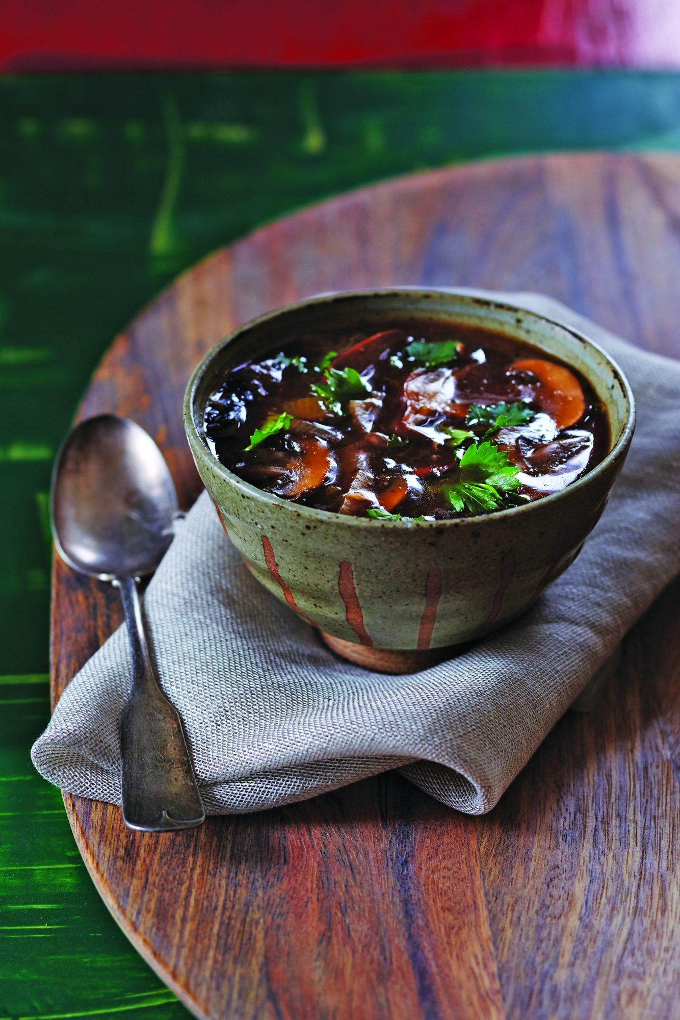 Wild Mushroom Soup Recipe Myrecipes