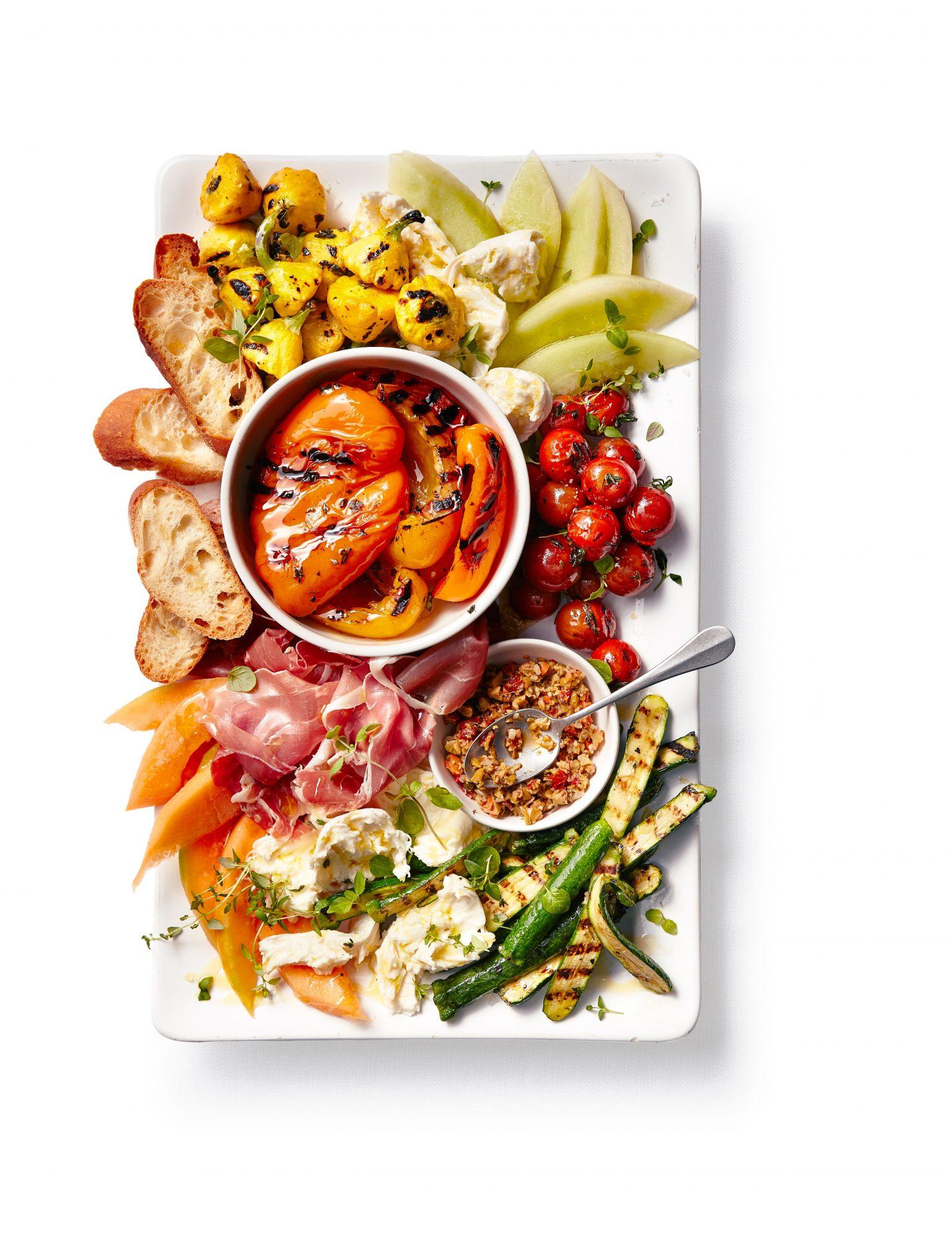 Monday Night Grilled Vegetable Platter