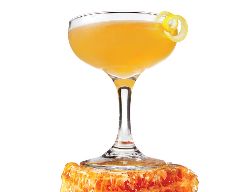 sl- Bee's Knees Honey Cocktail