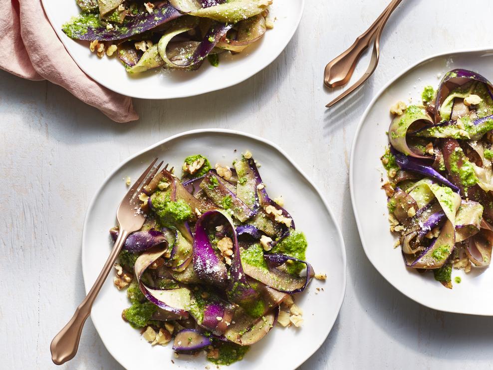 Eggplant Pappardelle image