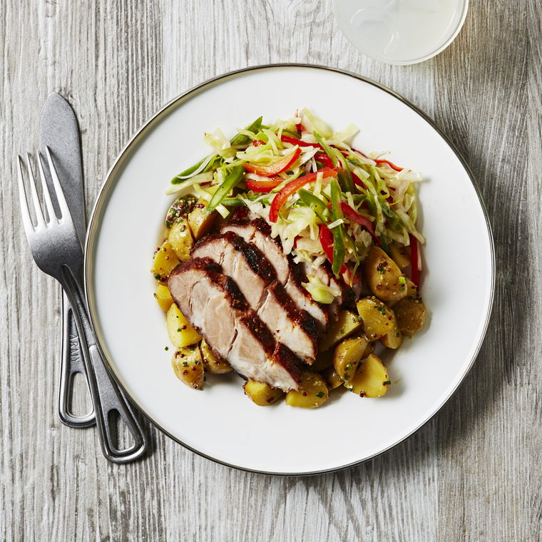 Sous Vide Barbecue Pork image