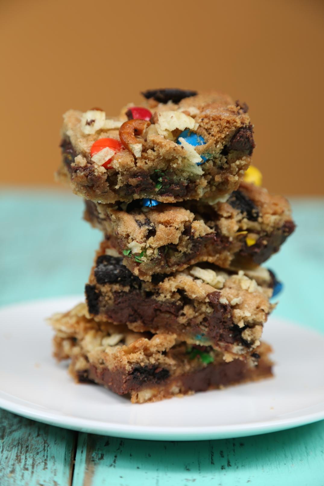 Junk Food Cookie Bars image