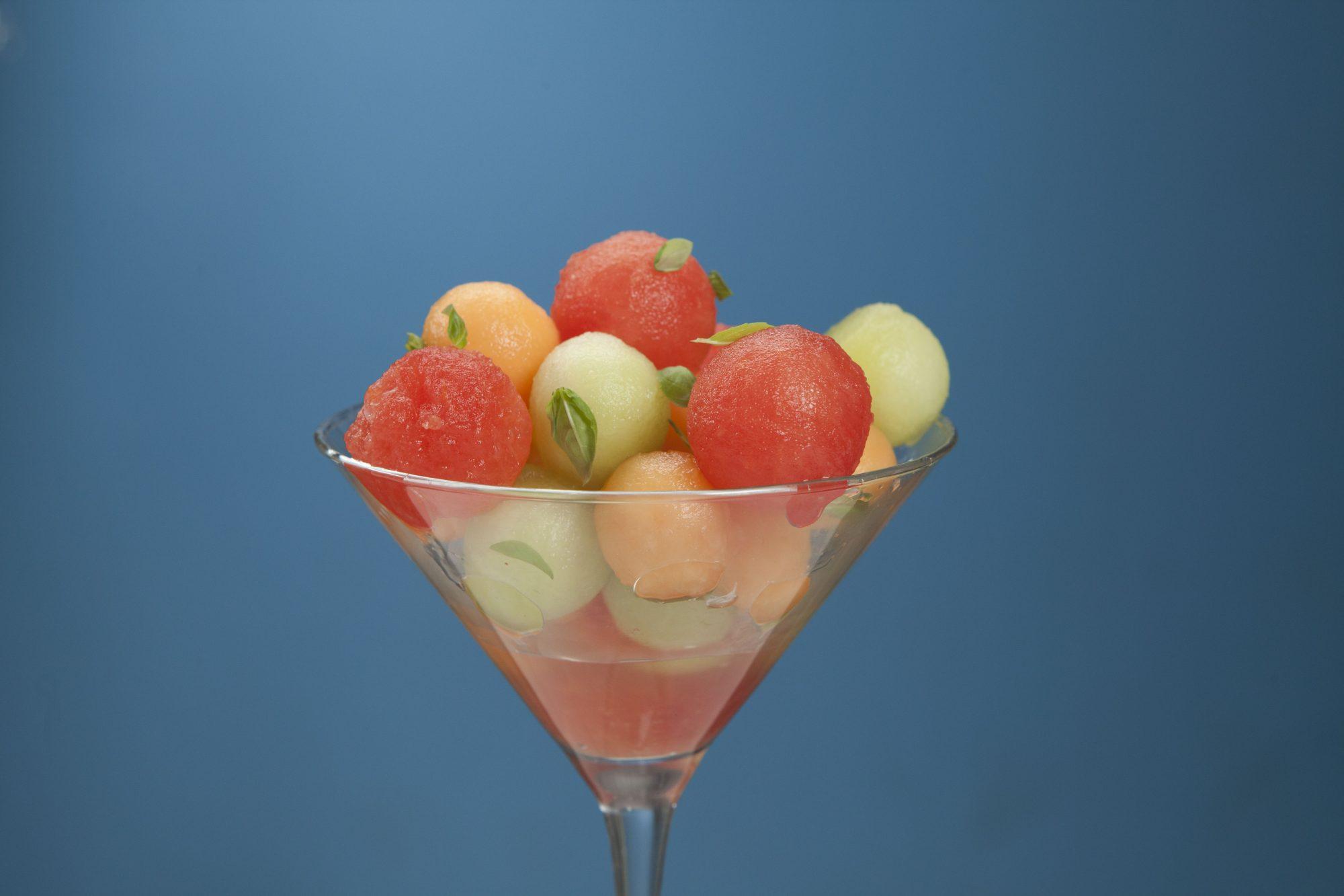 Boozy Soaked Summer Fruit