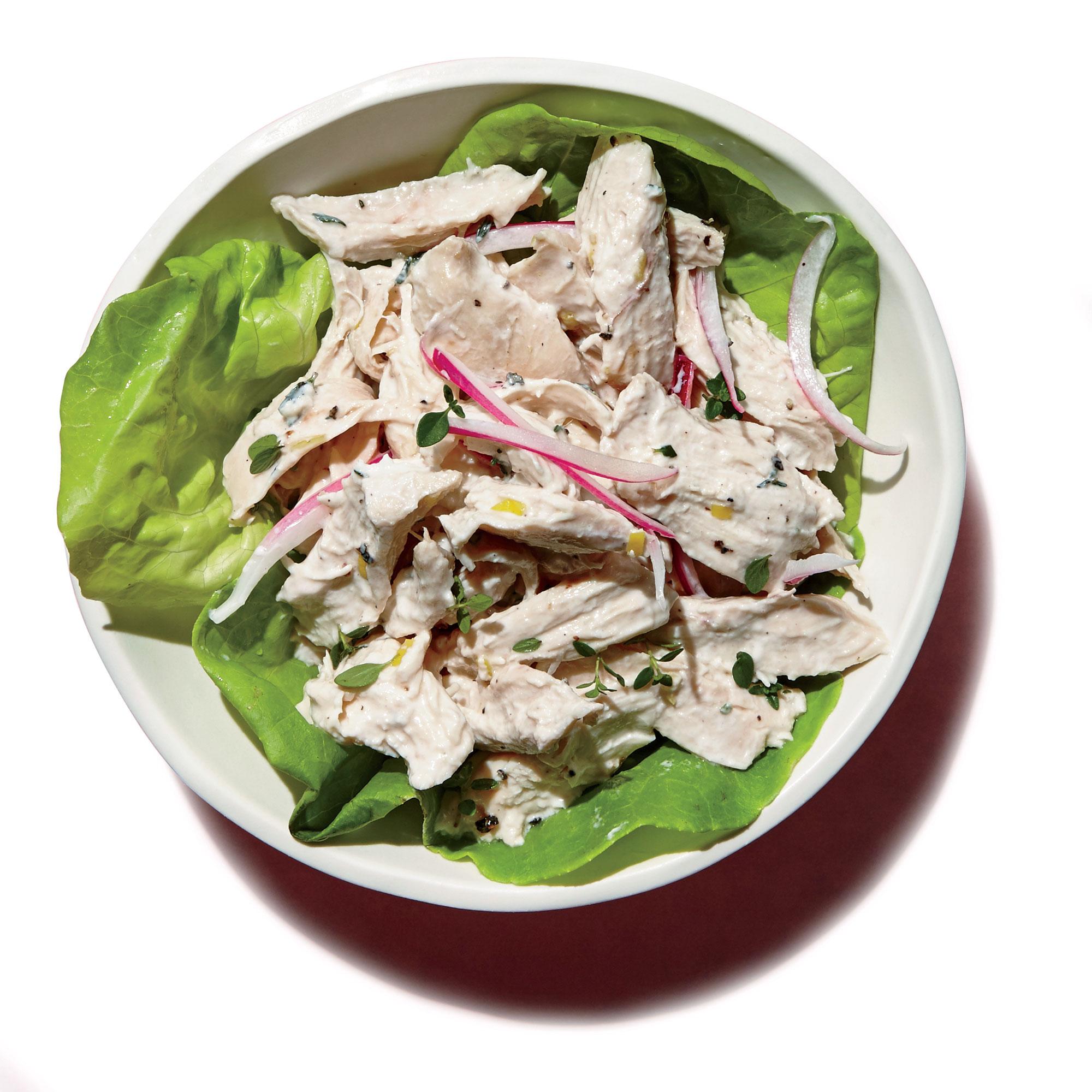 1709- Lemon-Thyme Chicken Salad