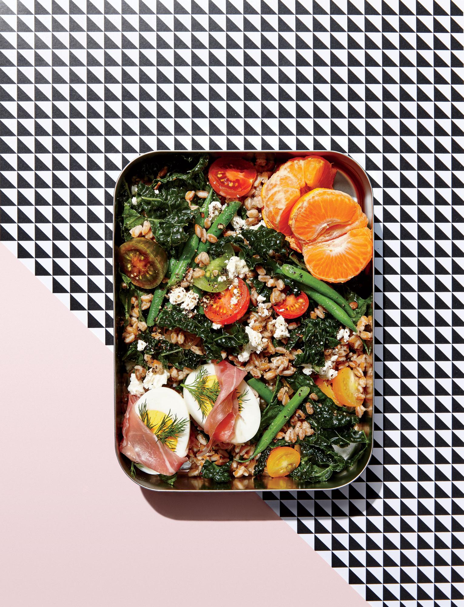 Farro Salad Lunch Box