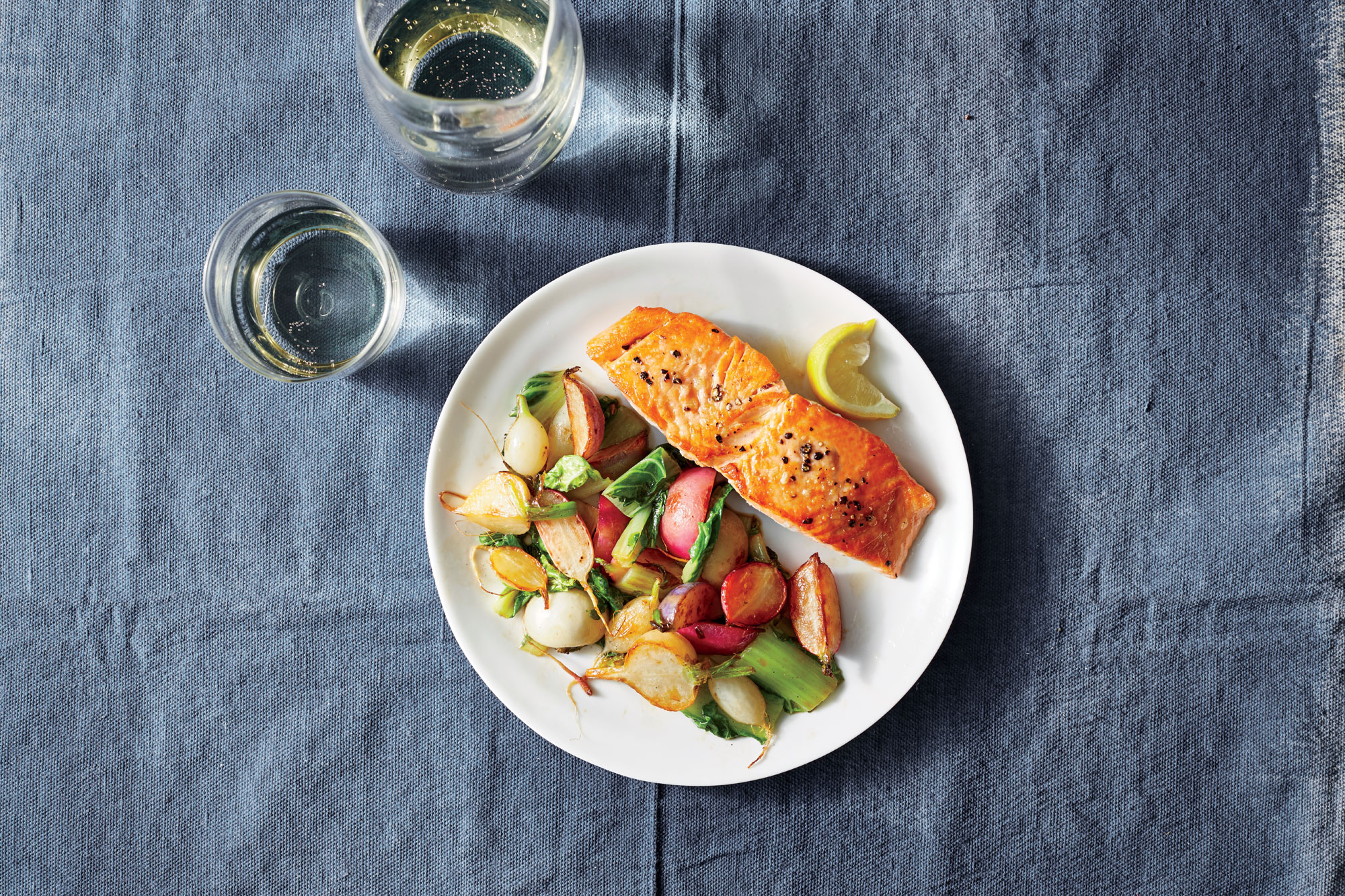<p>Fast Pan-Fried Salmon</p>