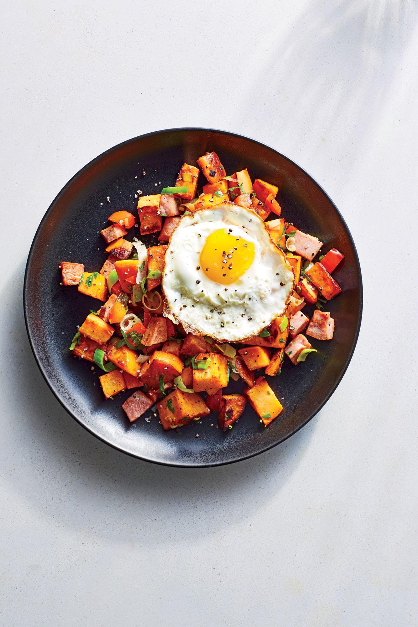 ck- Ham and Sweet Potato Hash