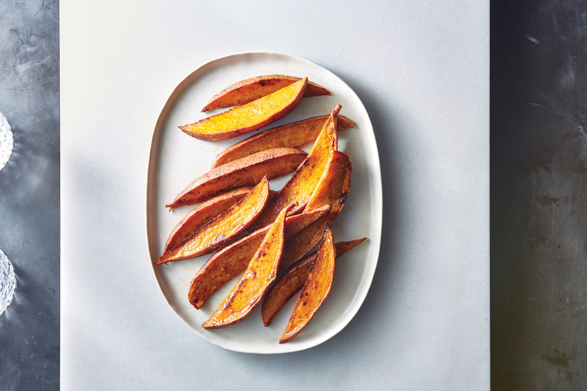 ck- Spicy Sweet Potato Wedges