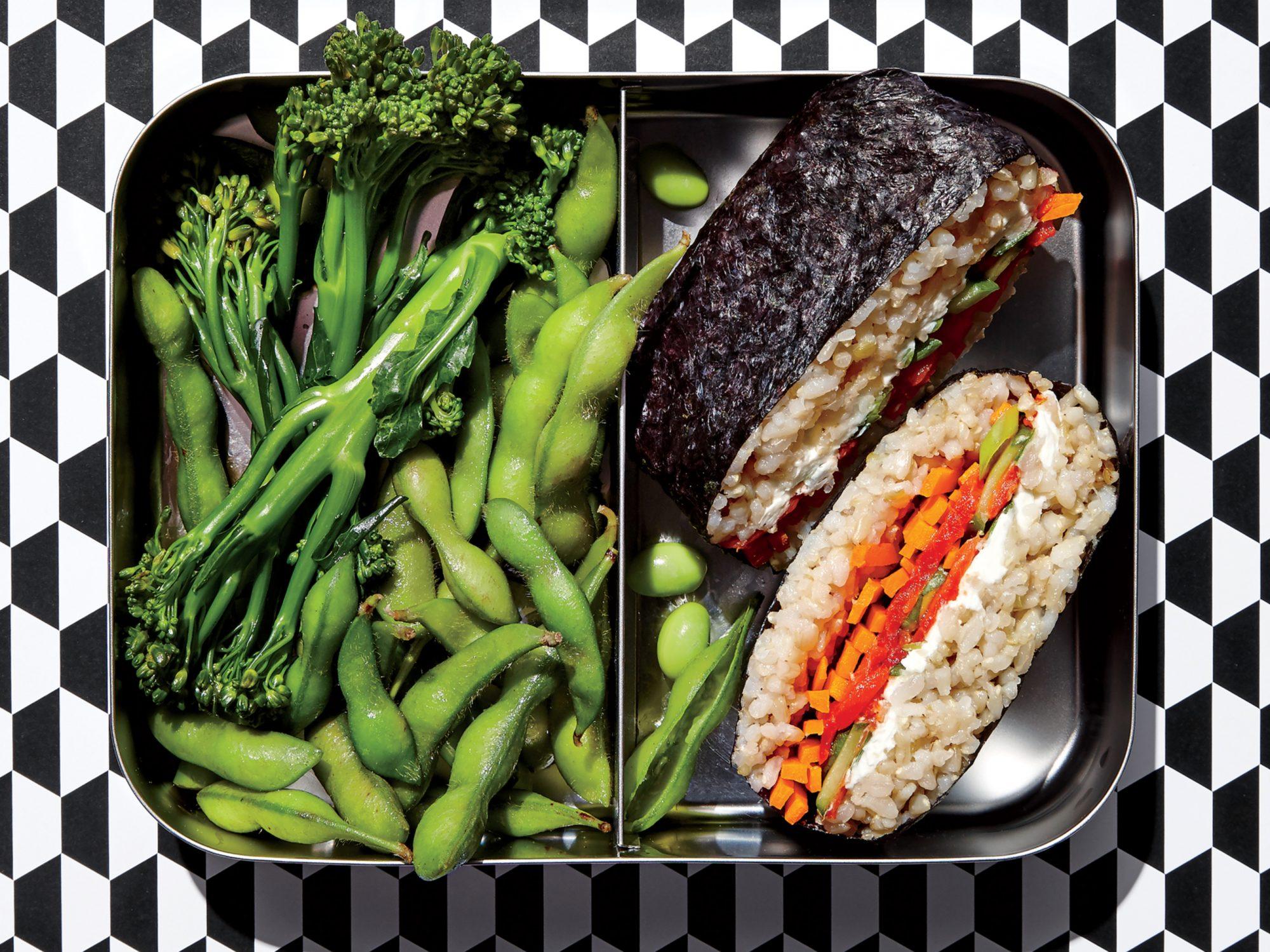 Sushi Sandwich Lunch Box