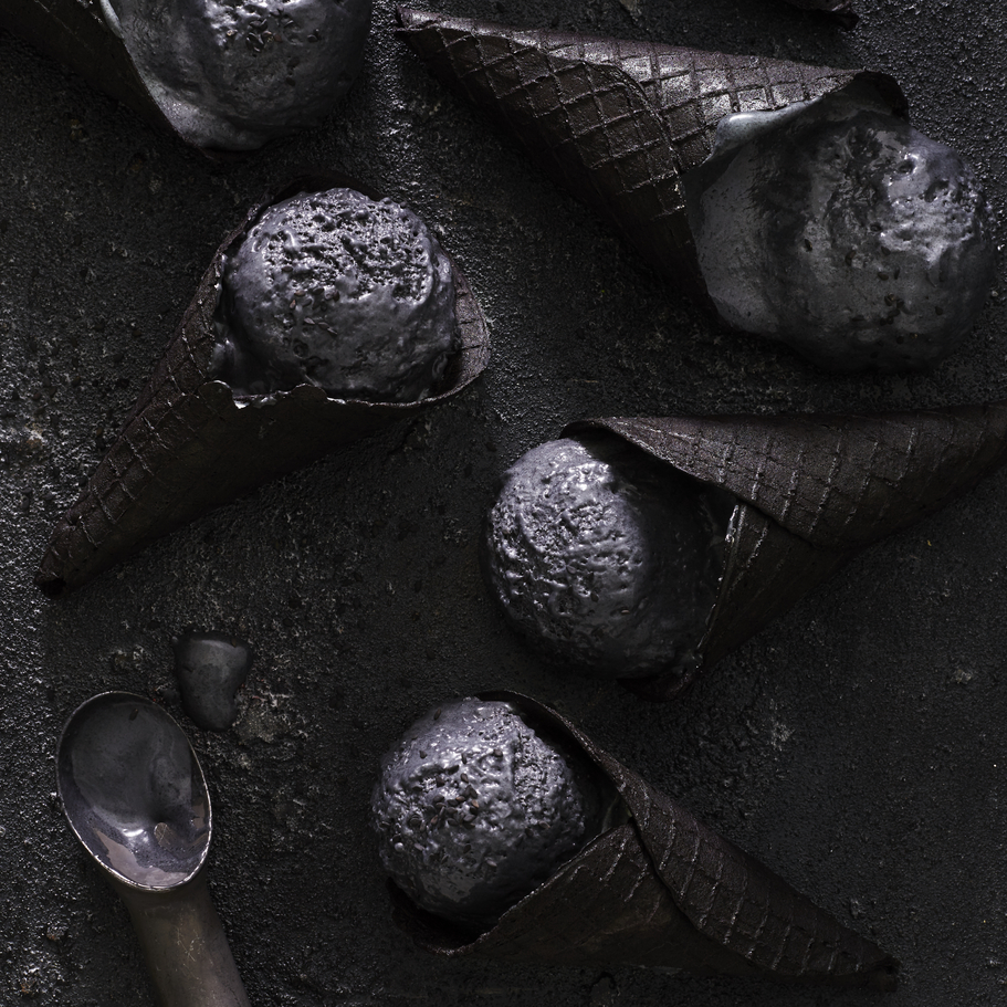Black Sesame Ice Cream image