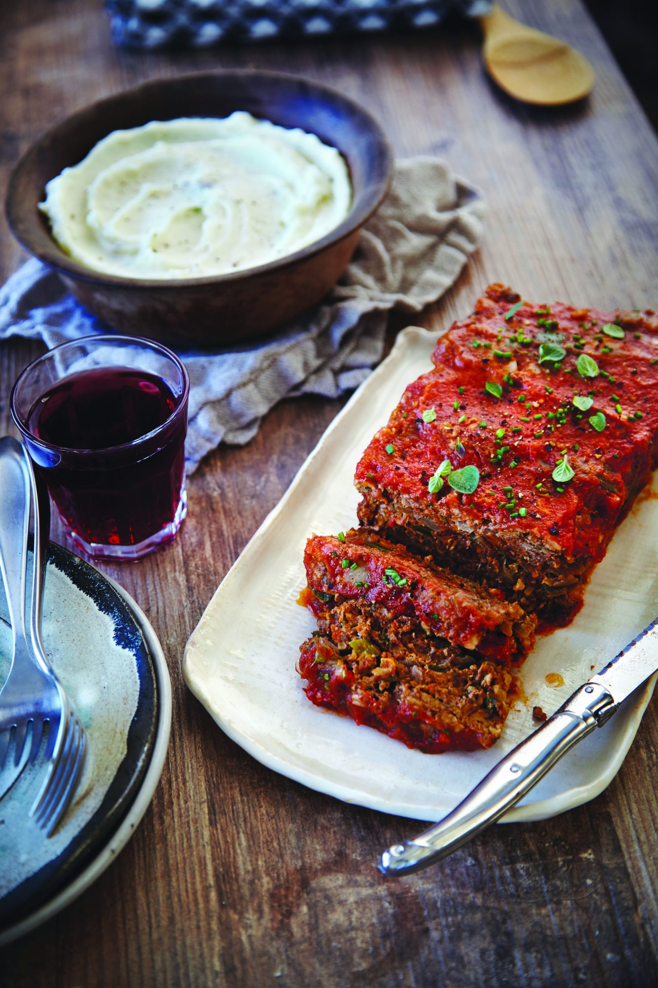 Chili Pepper-Spiked Meat Loaf