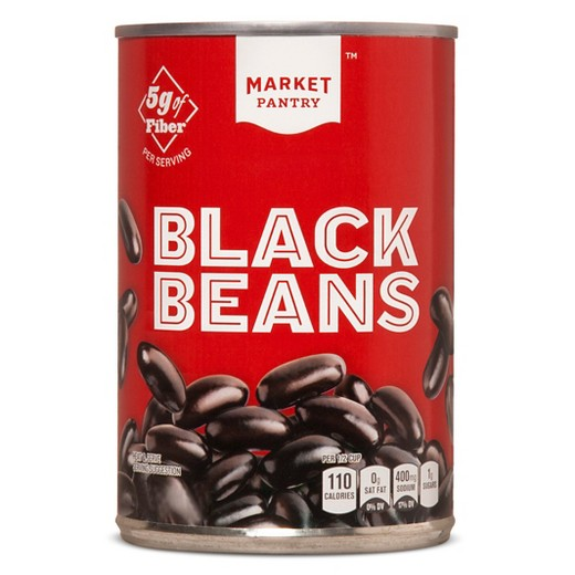 Market Pantry Canned Black Beans Target