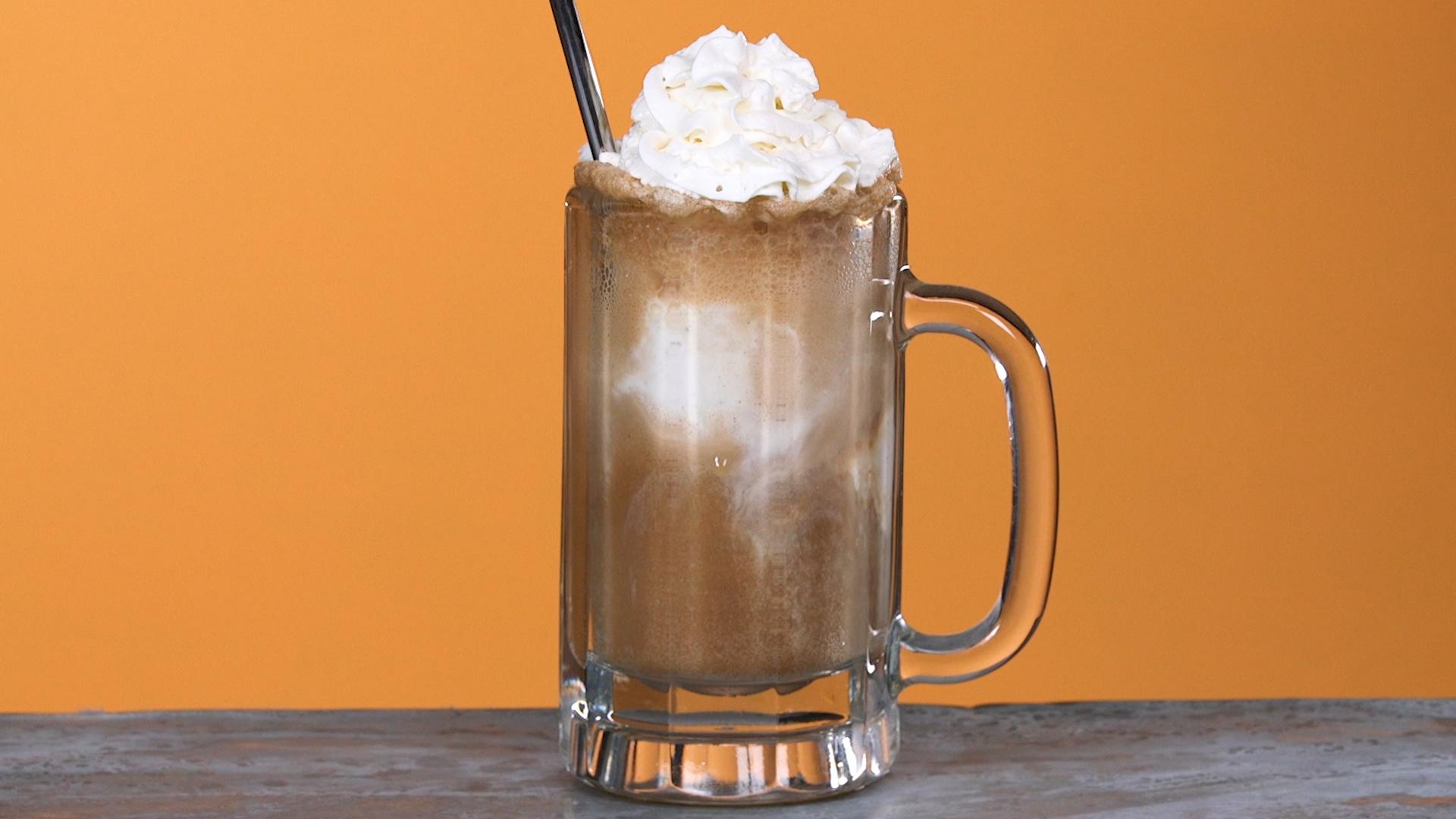 Boozy Root Beer Float image
