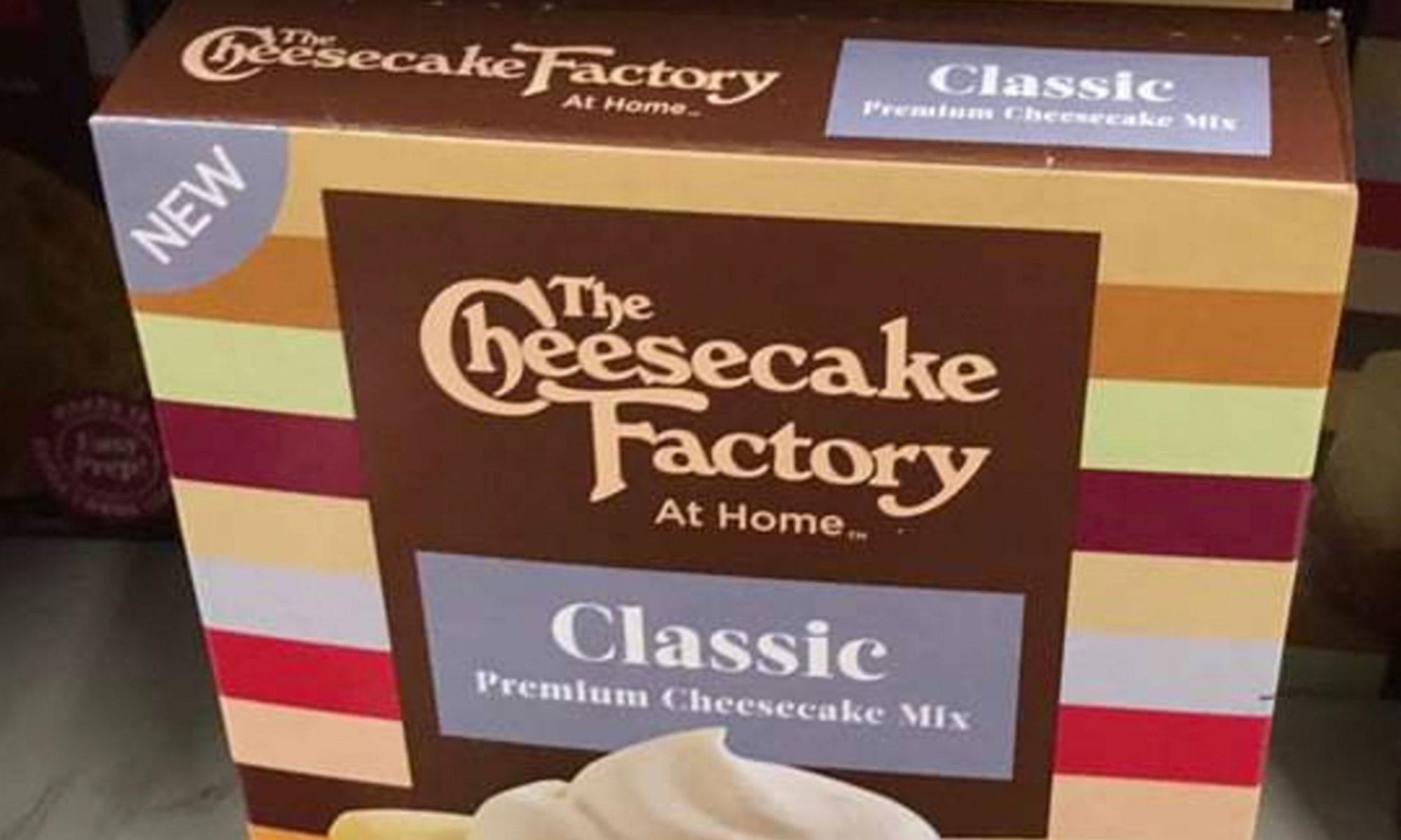 cheesecake factory baking mix