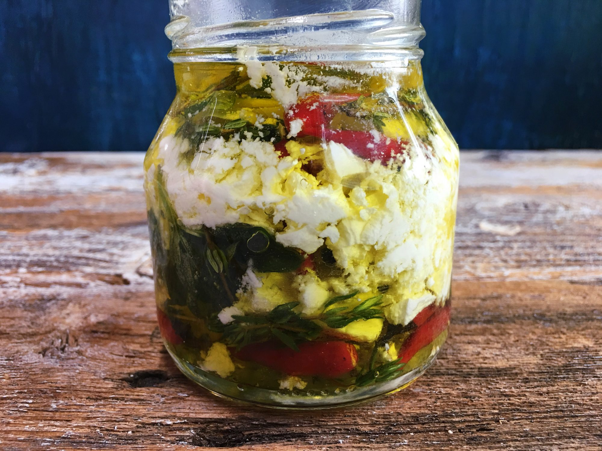 Marinated Feta: The Easiest, Most Impressive Appetizer Every Lazy Cook Should Know About