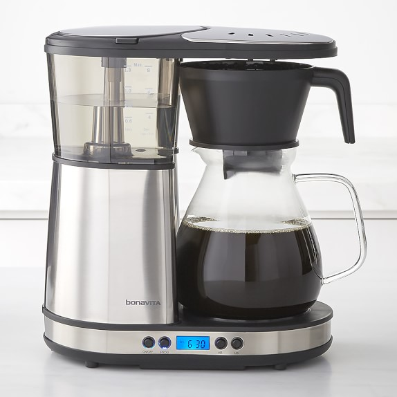 Bonavita 8-Cup Coffee Brewer with Glass Carafe