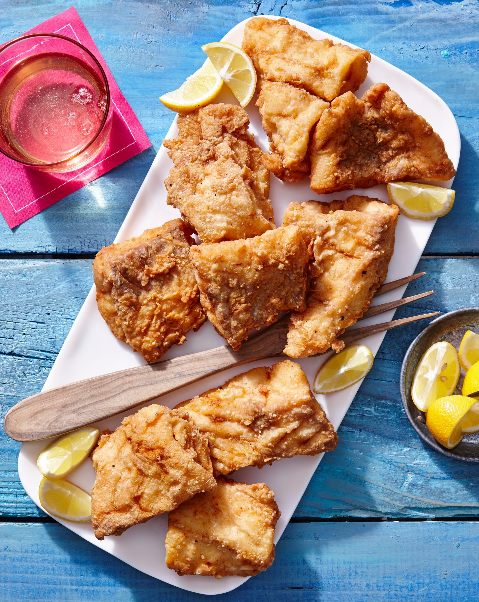 Ultimate fish fry recipe myrecipes for Fish fry ingredients