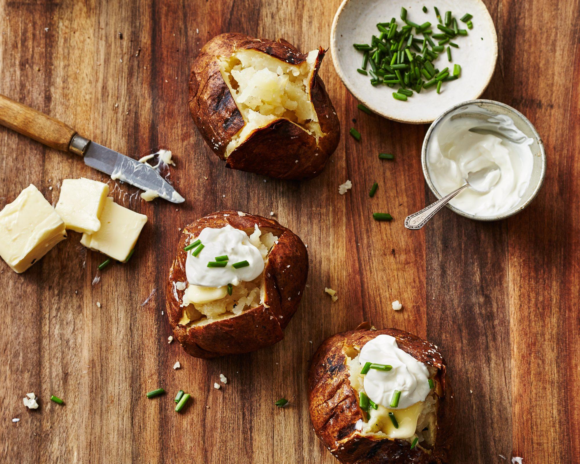 su- Baked Potatoes