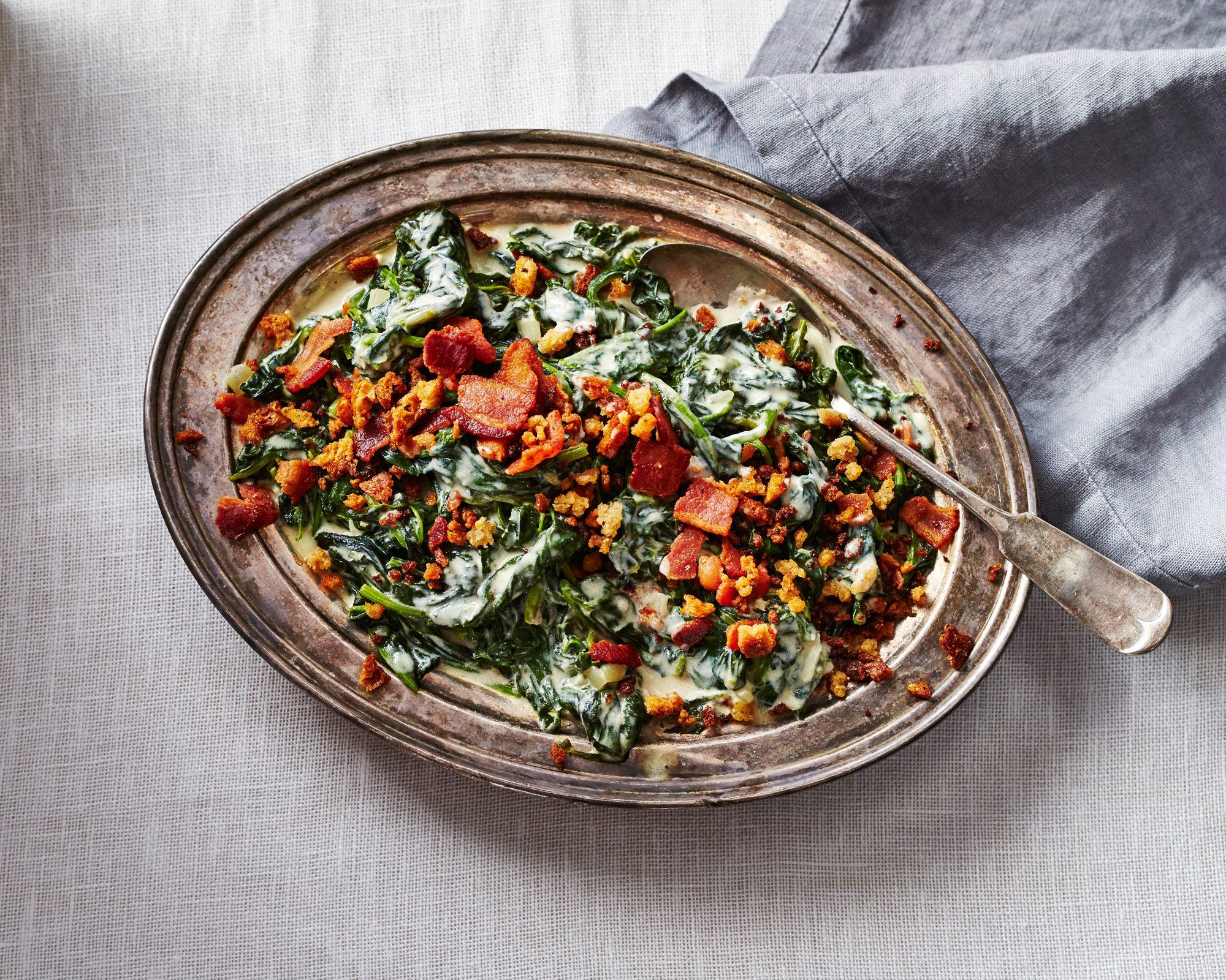 su- Creamed Spinach