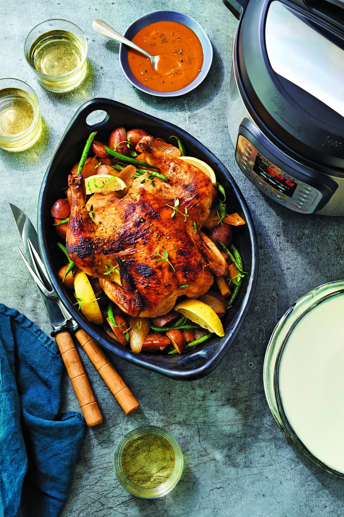 Chicken with Rich Lemon-Herb Sauce