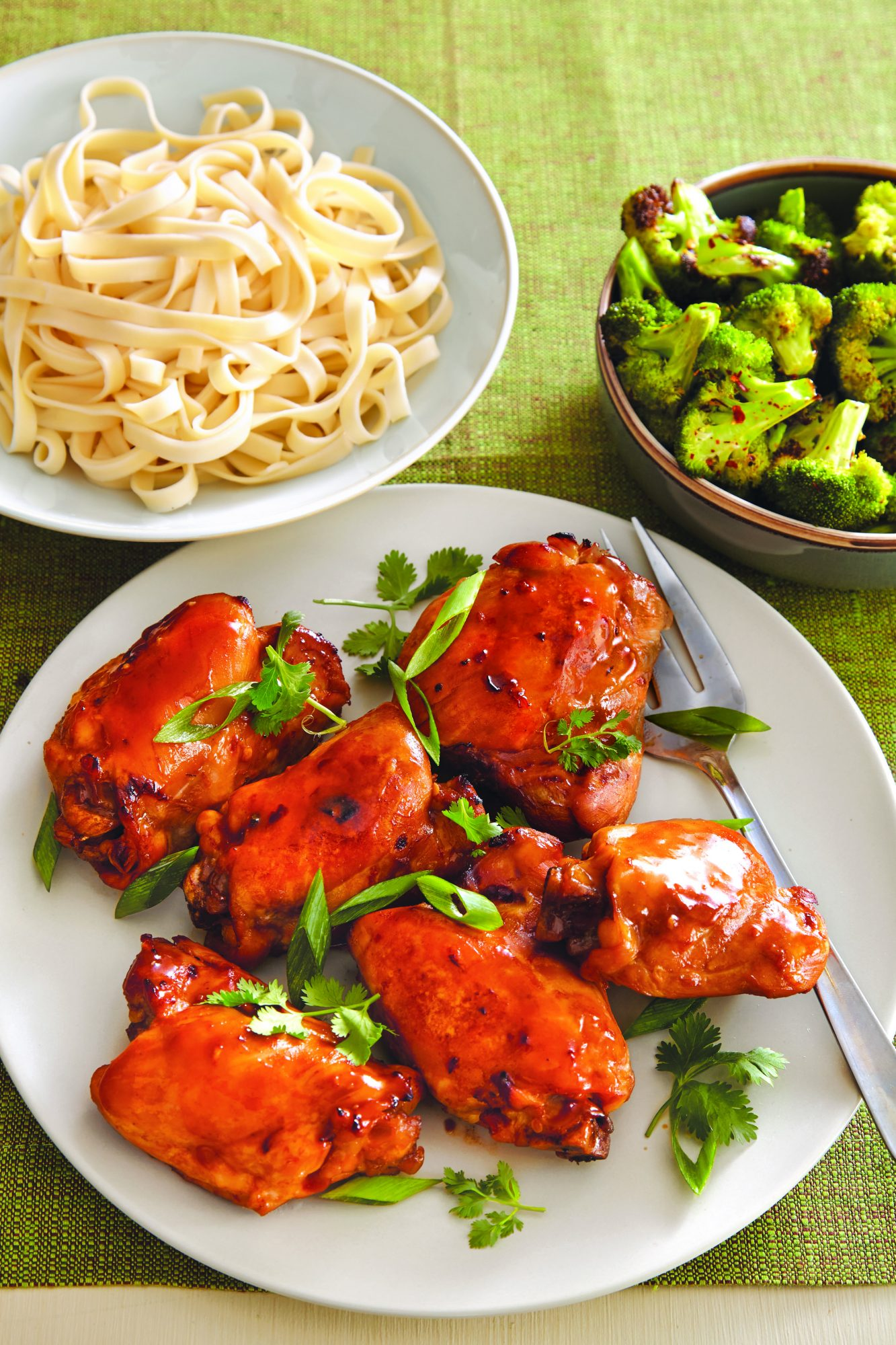 Spicy Asian Chicken Thighs