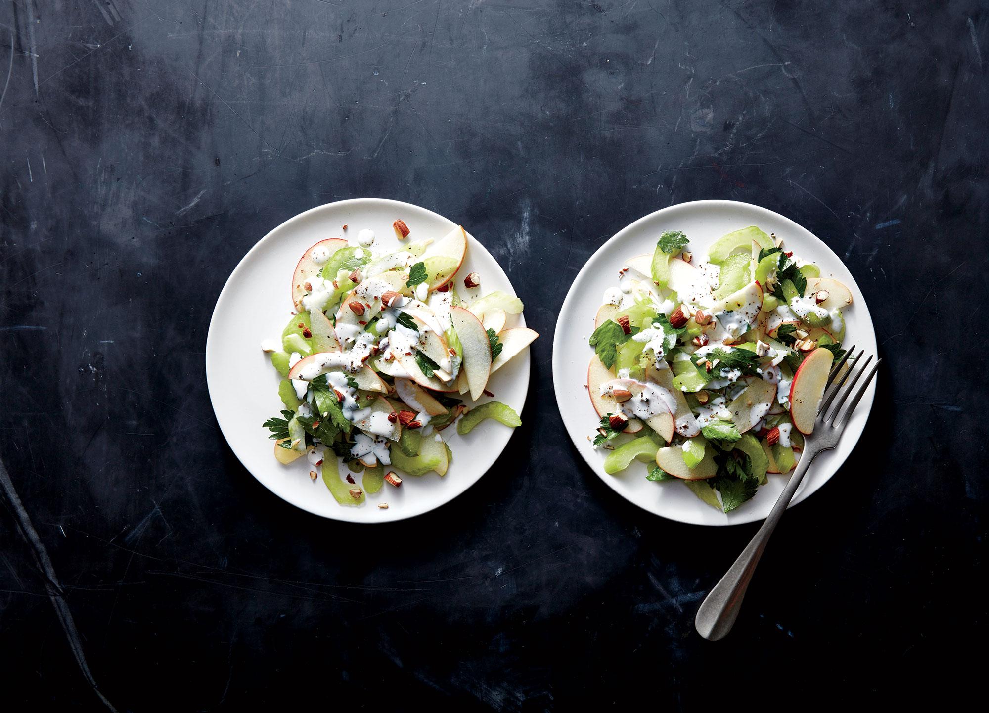 celery-apple-almond-salad
