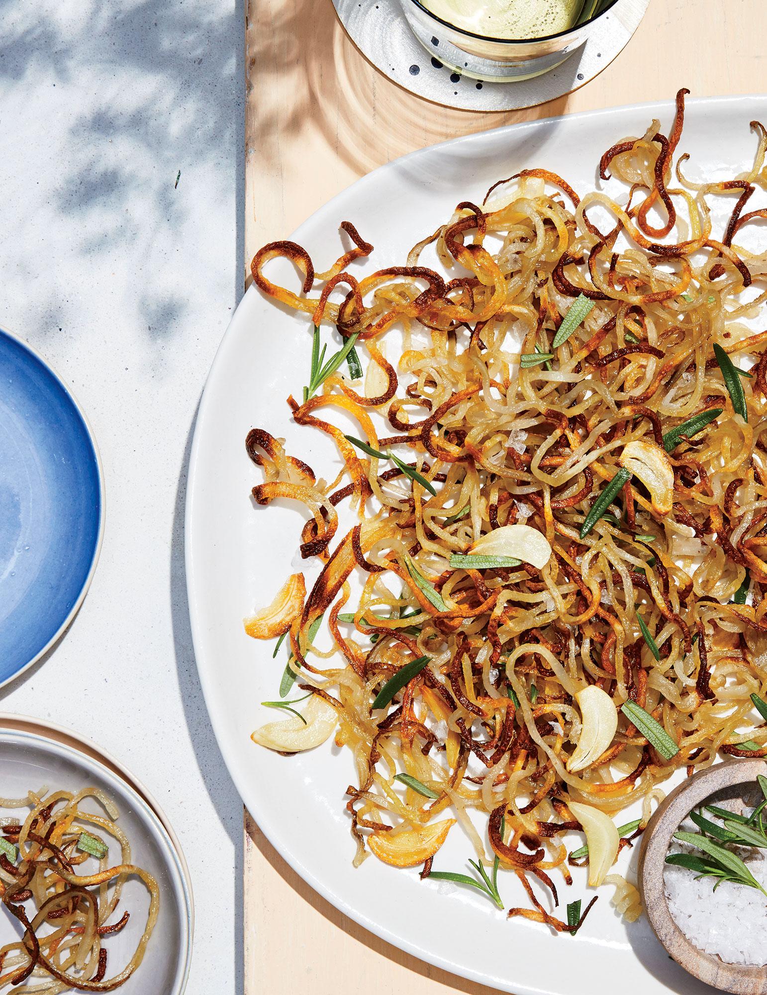 ck- Garlic-Herb Shoestring Fries