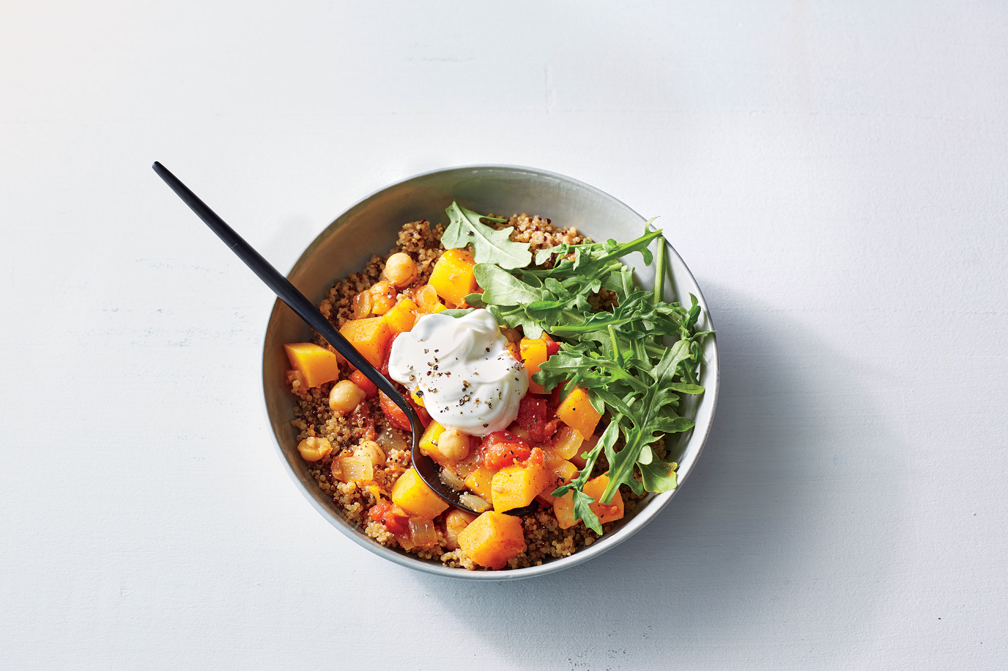 Moroccan Butternut Squash and Chickpea Stew