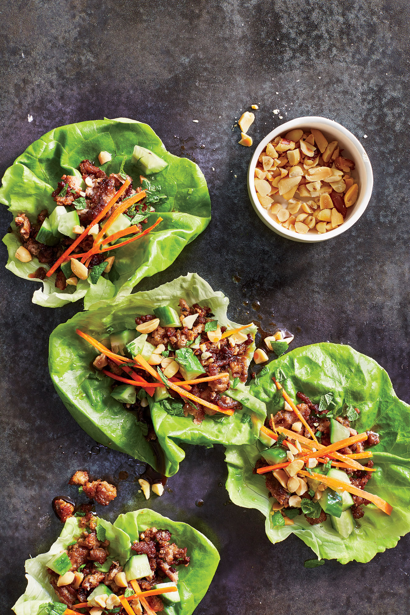 <p>Thai Turkey Lettuce Cups</p>