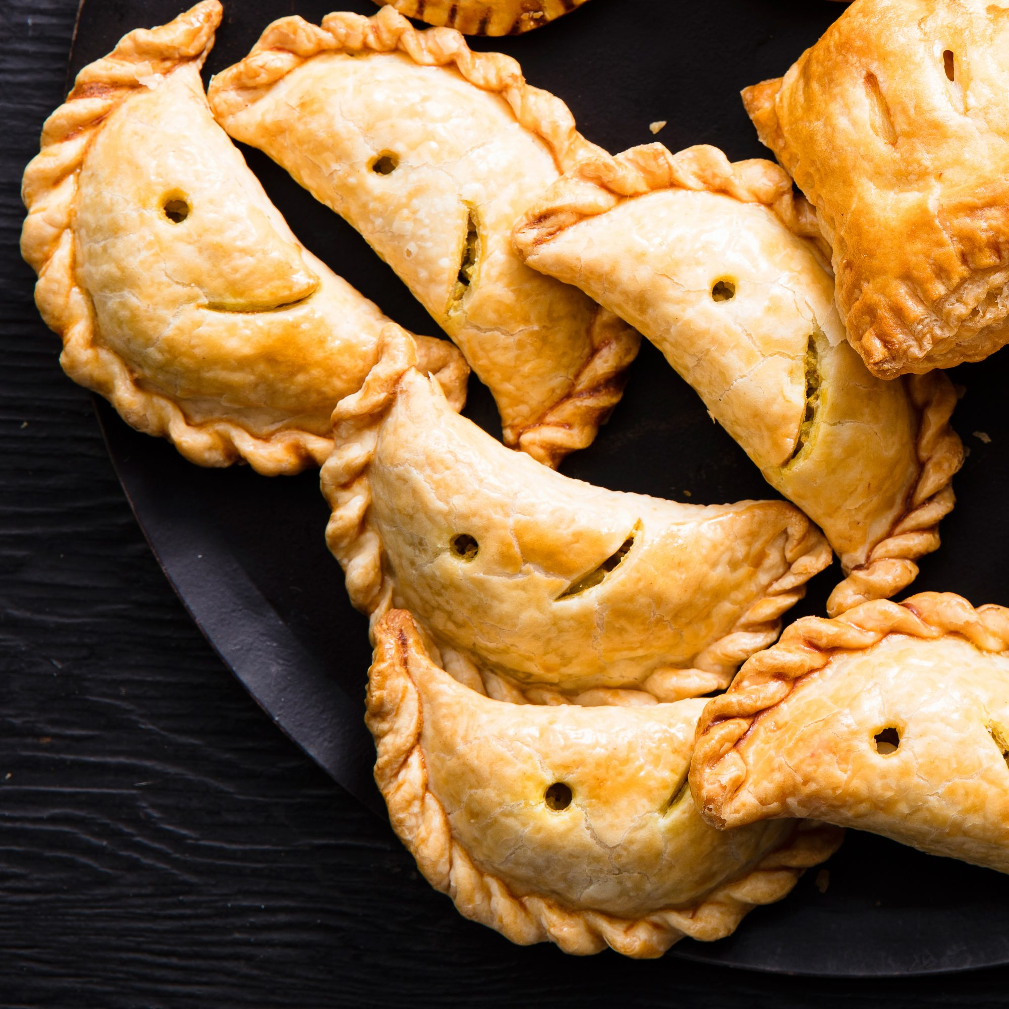 Chicken Curry Moon Pies